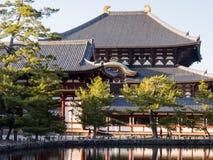 Tofukuji temple under the setting sun stock photography