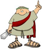 Toga Man With A Sword Stock Photography