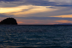 Togean Islands at sunset. Indonesia. Stock Images