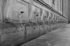Fountain in Assisi Stock Photos
