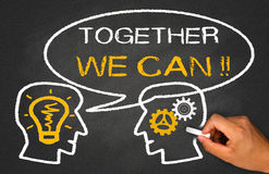 Together we can Royalty Free Stock Images