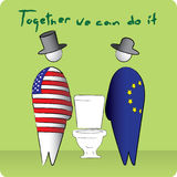 Together we can do it Royalty Free Stock Photo