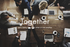 Together Community Family Friends Support Concept Royalty Free Stock Image