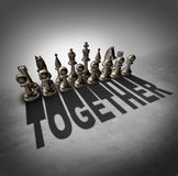 Together Concept Royalty Free Stock Photos