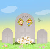 Together until death Stock Photography