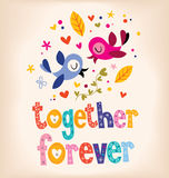 Together forever Stock Images