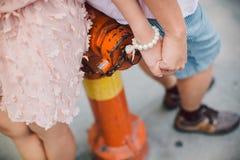 Together. Love together hand to hand prewedding singapore Stock Image