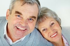 Together in old age Royalty Free Stock Photography