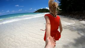 Together at Seychelles stock video