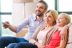 together tv watching Στοκ εικόνες με δικαίωμα ελεύθερης χρήσης