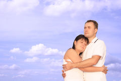 Togetherness. Two people loving each other Stock Photography