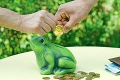 Togetherness savings Royalty Free Stock Image