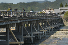 Togetsubrug (Kyoto) Royalty-vrije Stock Foto's