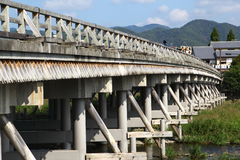 Togetsukyo bridge Royalty Free Stock Image