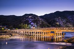 Togetsukyo Bridge Royalty Free Stock Images