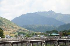 Togetsukyo bridge Stock Image