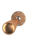 Toggle switch, 3D Royalty Free Stock Image
