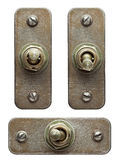 Toggle switches Royalty Free Stock Image