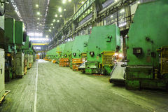 Oficina na fábrica de Avtovaz Foto de Stock