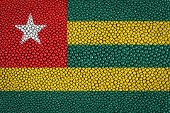 Togo Flag Royalty Free Stock Images