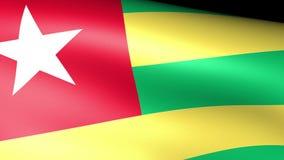 Togo Flag Waving libre illustration