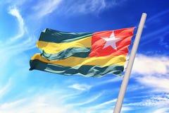 Togo flaga Zdjęcia Royalty Free