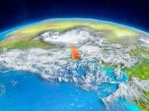Togo på jord Arkivfoto