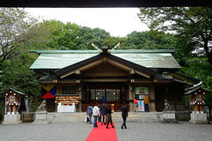 Togo Shinto shrine, Tokyo, Japan Royalty Free Stock Photography