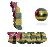 Togo Symbols Fotografia Stock Libera da Diritti