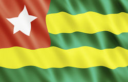 Togolese Republic, Togo Flag Stock Photos
