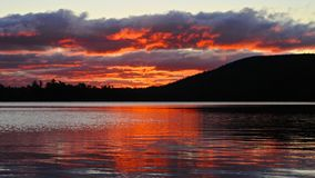 Togue Pond Sunrise Royalty Free Stock Photography