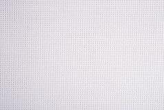 Toile blanche de coton pour la couture comme fond Photo libre de droits