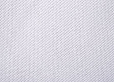 Toile blanche de coton pour la couture comme fond Photo stock