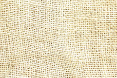 Toile brune naturelle de toile à sac texturisée pour le fond Image stock