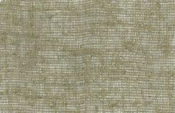 Toile brute de tissu de toile de jute Image libre de droits