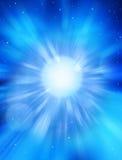 étoile céleste de l'espace de ciel Image libre de droits