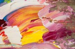 Toile colorée Photos libres de droits