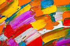 Toile colorée Images libres de droits