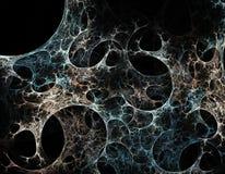 Toile d'araignée abstraite Images stock