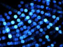 Toile d'araignée bleue Photographie stock libre de droits