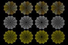 Toile d'araignée, ensemble de toile d'araignée, Photographie stock libre de droits