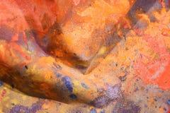 Toile de couleur Photos stock