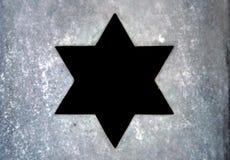 Étoile de David Photo libre de droits