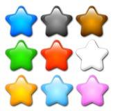 Étoile de dessin animé Photos stock