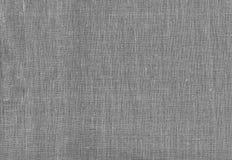 Toile de jute grise renvoyant comme fond Photo libre de droits