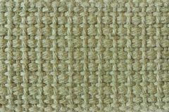 Toile de jute verte Photos stock