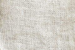Toile grise naturelle de toile à sac texturisée pour le fond Photo libre de droits