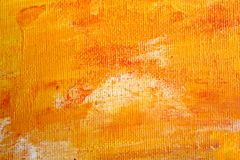 Toile orange Photos stock