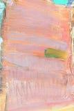 Toile peinte par abstrait Images libres de droits