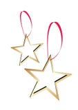 Étoiles d'or Images libres de droits